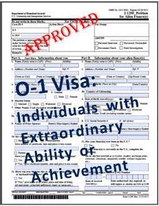 Виза США Для Одарённых Людей (О-ВИЗА)